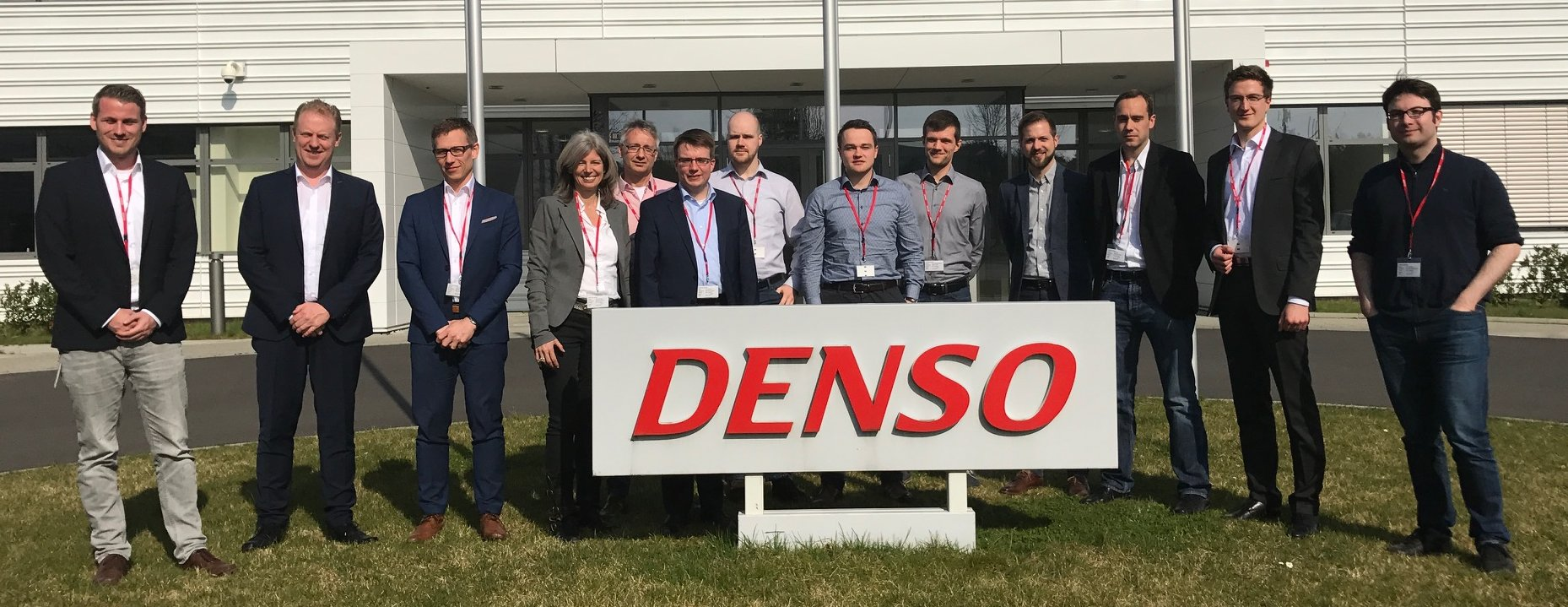 Project partners at DENSO in Wegberg