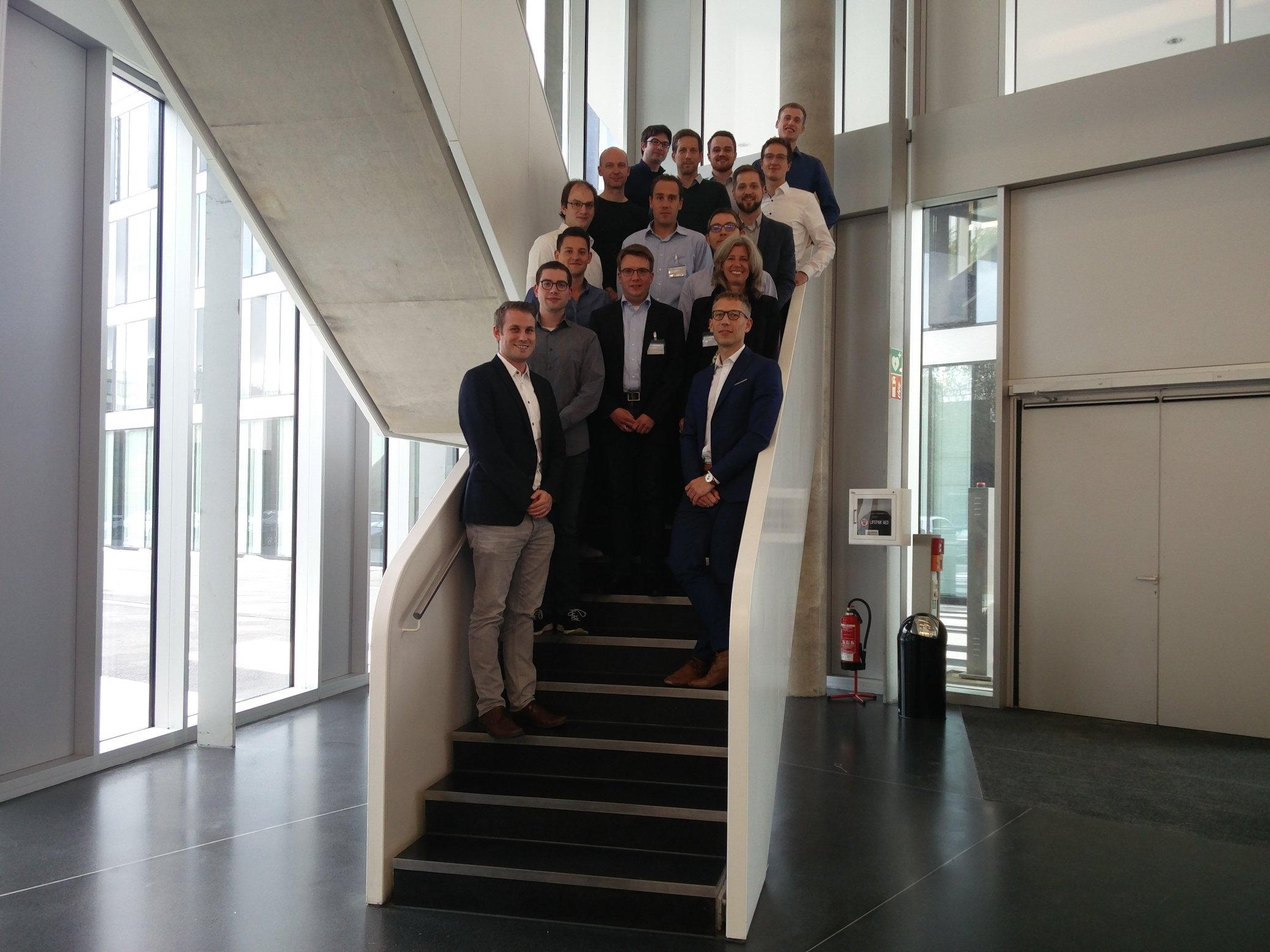 Project partners at RWTH Aachen University