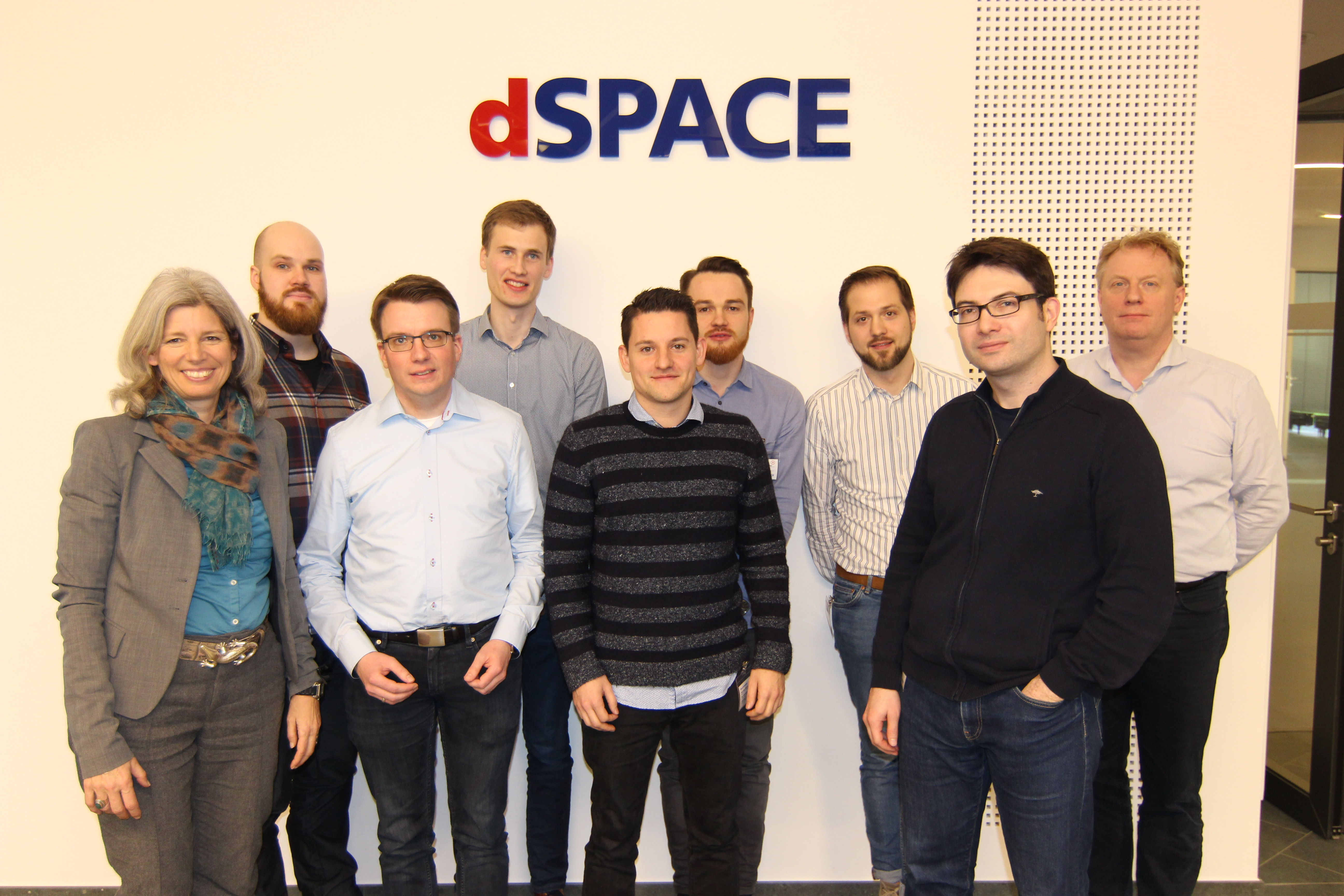 project partners at dSPACE GmbH